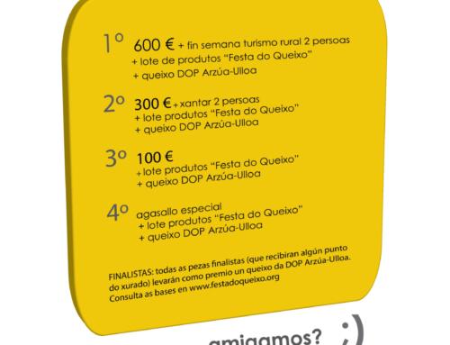 BASES CONCURSO DE CARTEIS #QUEIXO2020. 45º ANIVERSARIO